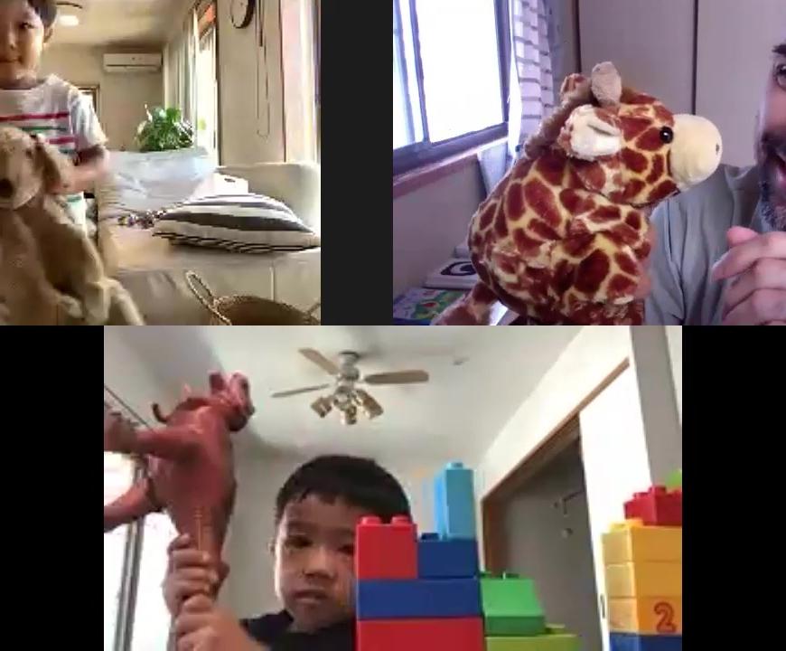 オンライン幼児レッスン